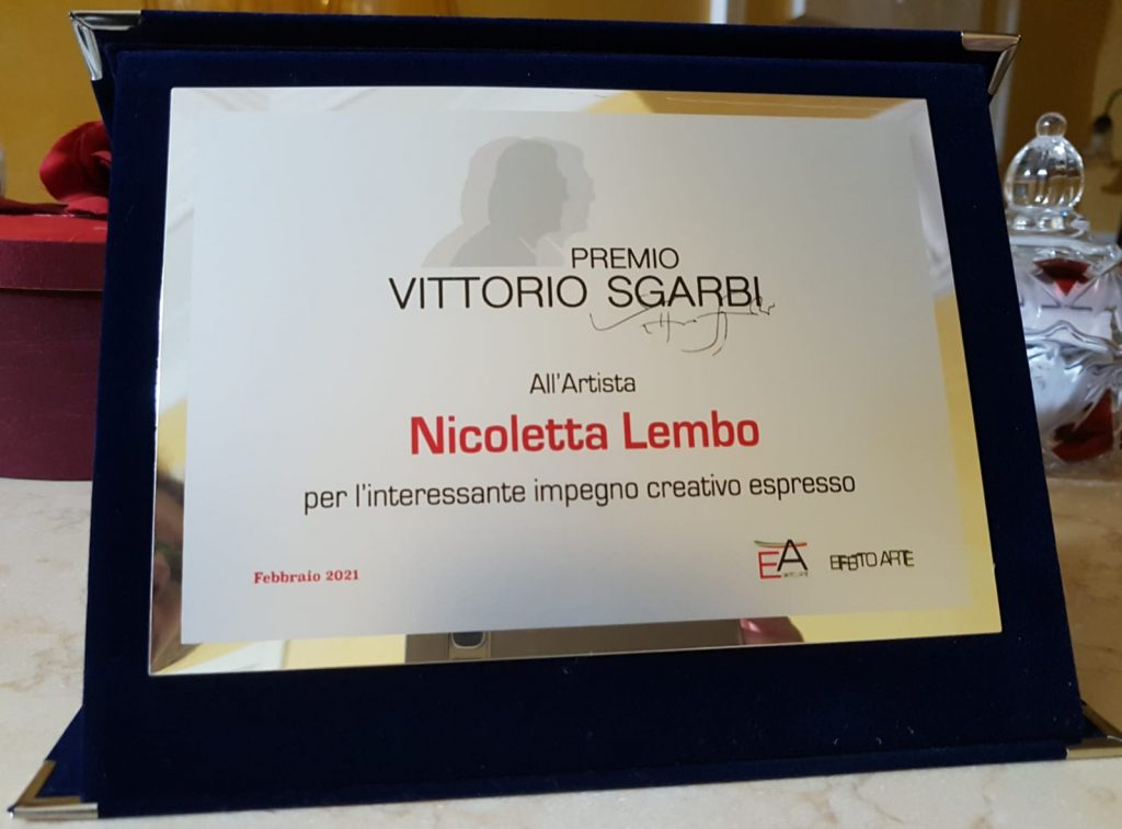 Premio Vittorio Sgarbi: Nicoletta Lembo